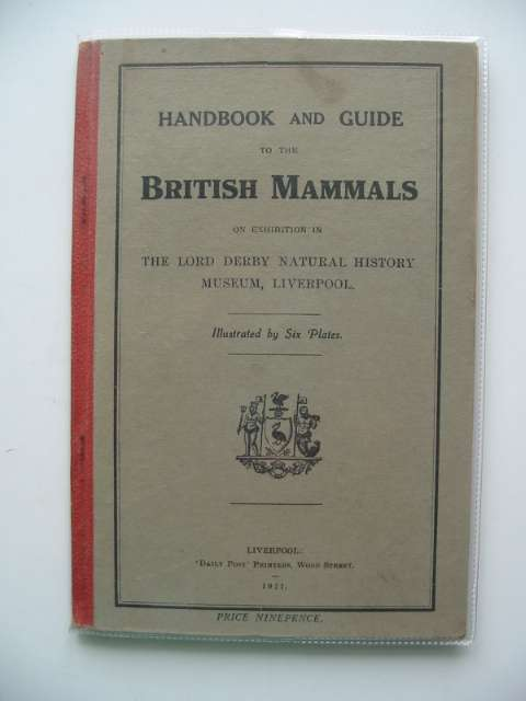 Photo of HANDBOOK AND GUIDE TO THE BRITISH MAMMALS published by Daily Post (STOCK CODE: 988239)  for sale by Stella & Rose's Books