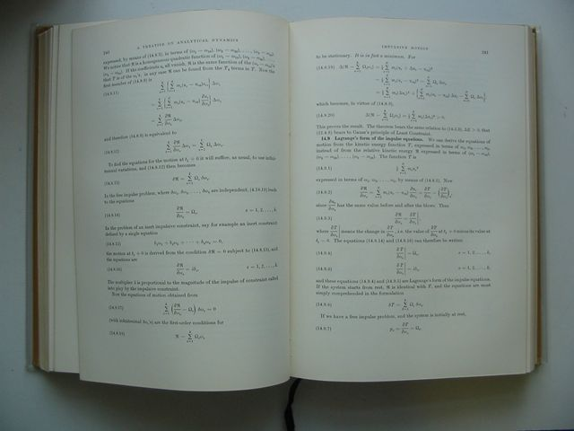 Photo of A TREATISE ON ANALYTICAL DYNAMICS written by Pars, Leopold Alexander published by Heinemann (STOCK CODE: 990133)  for sale by Stella & Rose's Books