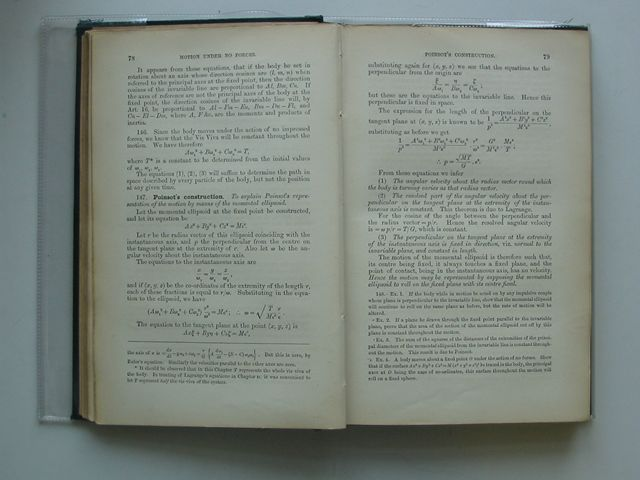 Photo of THE ADVANCED PART OF A TREATISE ON THE DYNAMICS OF A SYSTEM OF RIGID BODIES written by Routh, Edward John published by Macmillan & Co. (STOCK CODE: 990165)  for sale by Stella & Rose's Books