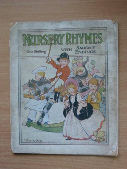 Photo of NURSERY RHYMES WITH SAUC(E)Y ENDINGS illustrated by Rees, E. Dorothy (STOCK CODE: 990430)  for sale by Stella & Rose's Books
