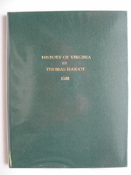 Photo of A BRIEFE AND TRUE REPORT OF THE NEW FOUND LAND OF VIRGINIA written by Hariot, Thomas published by Dodd, Mead & Company (STOCK CODE: 990470)  for sale by Stella & Rose's Books
