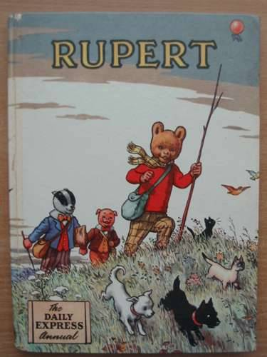 Photo of RUPERT ANNUAL 1955 written by Bestall, Alfred illustrated by Bestall, Alfred published by Daily Express (STOCK CODE: 990668)  for sale by Stella & Rose's Books