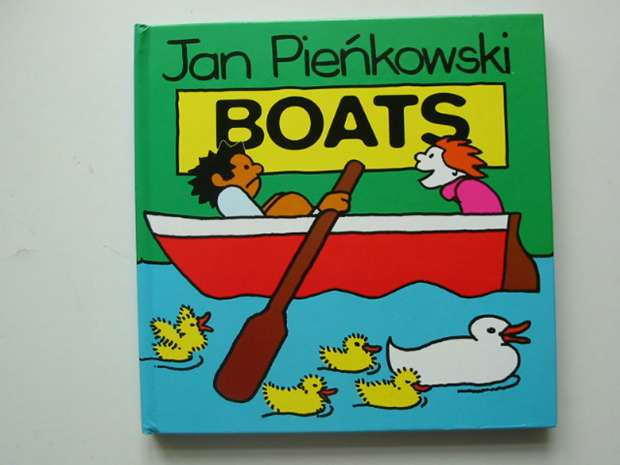 Photo of BOATS written by Pienkowski, Jan illustrated by Pienkowski, Jan published by Heinemann (STOCK CODE: 990933)  for sale by Stella & Rose's Books