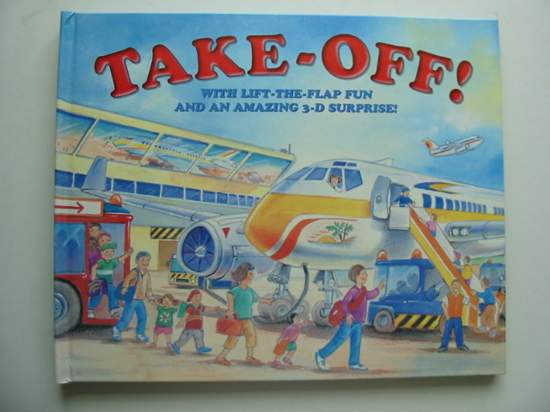 Photo of TAKE-OFF! written by Baxter, Nicola illustrated by Moseley, Dudley<br />Moseley, Keith published by Armadillo Books (STOCK CODE: 991836)  for sale by Stella & Rose's Books