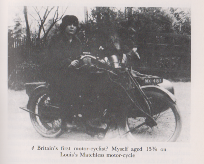 Britain's First Motor-cyclist?