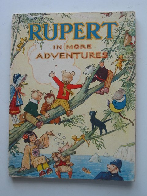 Cover of RUPERT ANNUAL 1944 - RUPERT IN MORE ADVENTURES by Alfred Bestall
