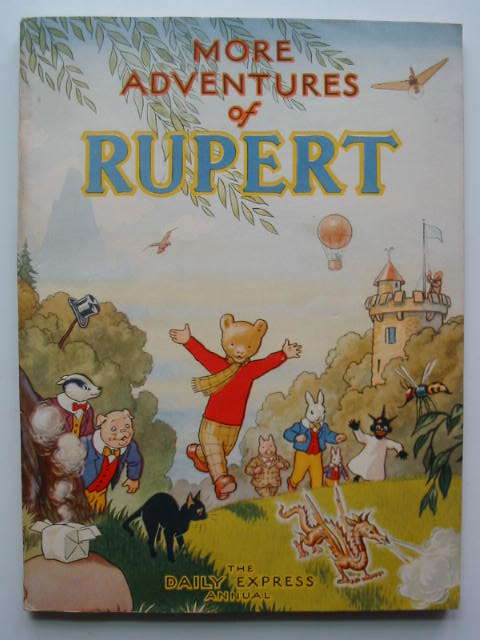 Cover of RUPERT ANNUAL 1947 - MORE ADVENTURES OF RUPERT by Alfred Bestall