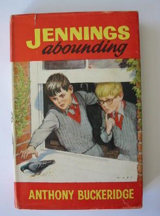 Cover of JENNINGS ABOUNDING by Anthony Buckeridge