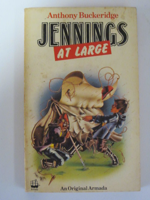 Cover of JENNINGS AT LARGE by Anthony Buckeridge