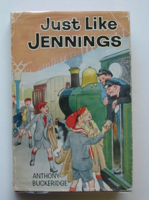 Cover of JUST LIKE JENNINGS by Anthony Buckeridge
