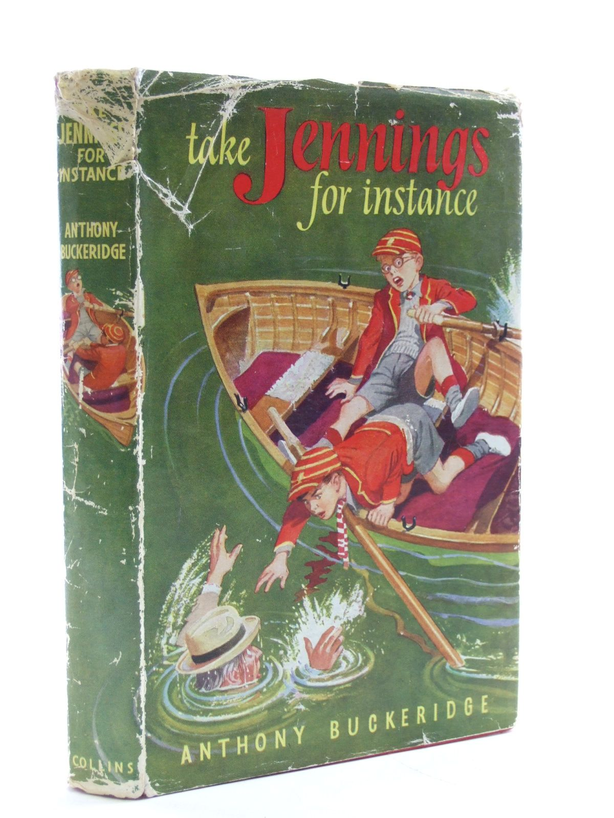 Cover of TAKE JENNINGS, FOR INSTANCE by Anthony Buckeridge
