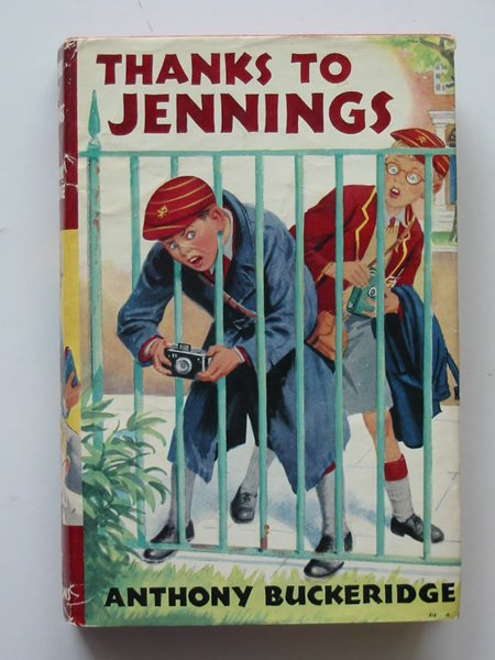 Cover of THANKS TO JENNINGS by Anthony Buckeridge