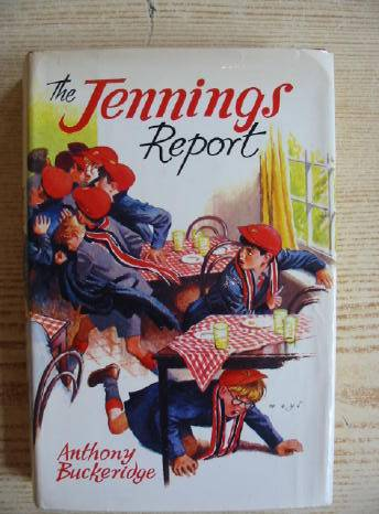 Cover of THE JENNINGS REPORT by Anthony Buckeridge