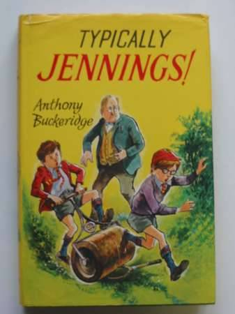 Cover of TYPICALLY JENNINGS by Anthony Buckeridge