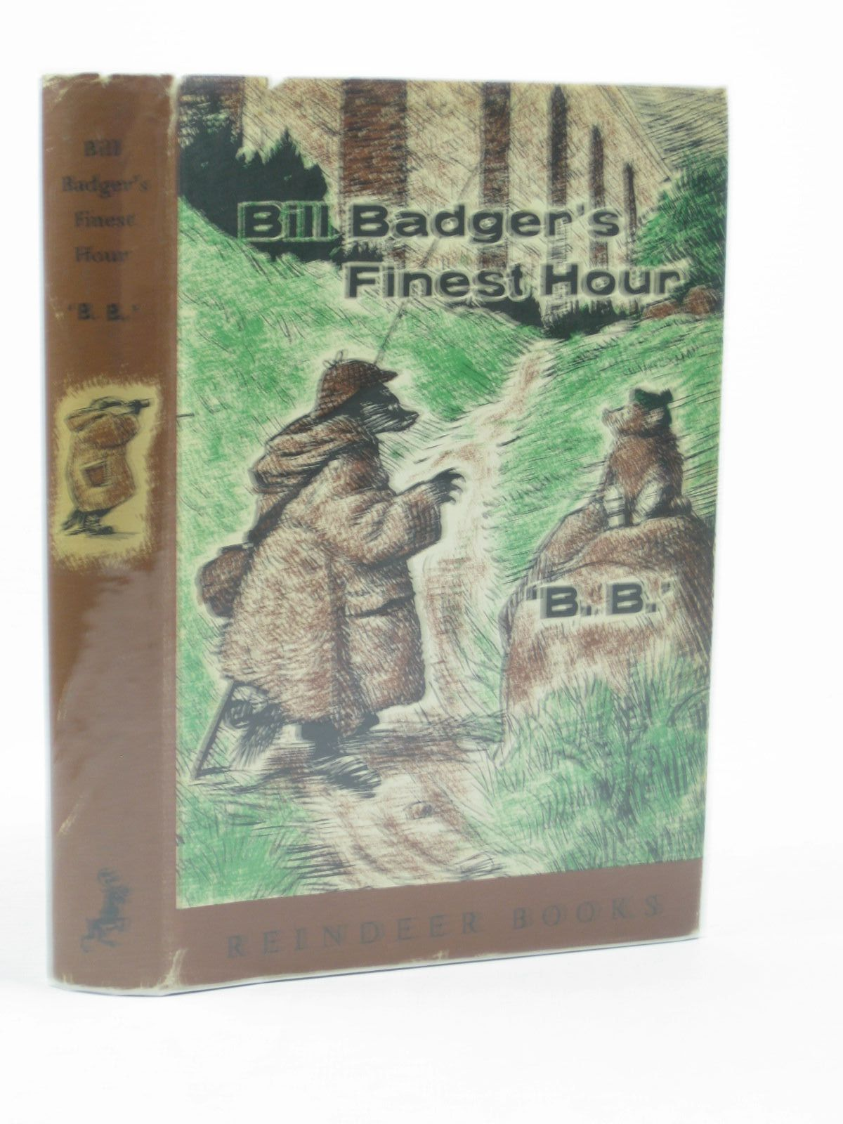 Cover of BILL BADGER'S FINEST HOUR by  BB