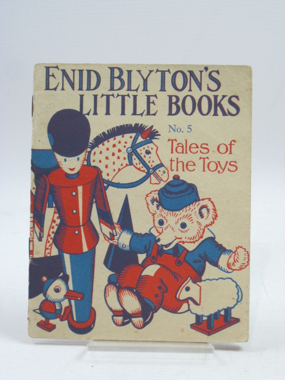 Cover of ENID BLYTON'S LITTLE BOOKS NO. 5 - TALES OF THE TOYS by Enid Blyton