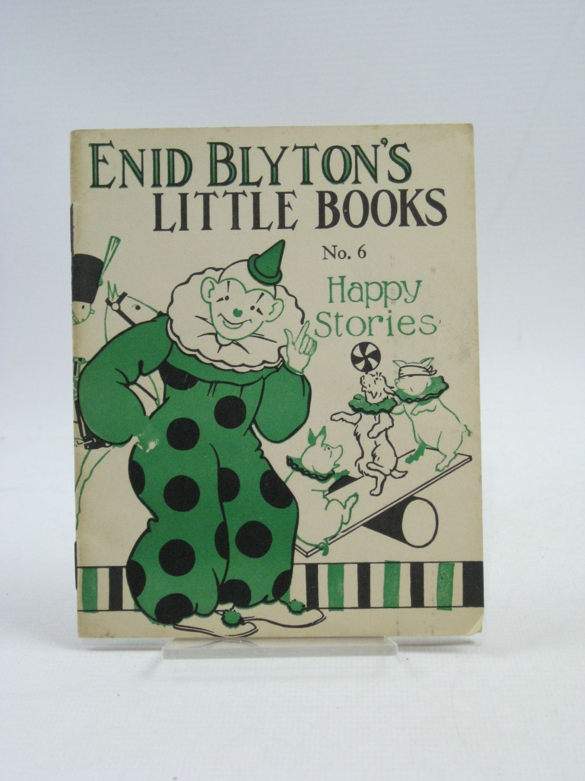 Cover of ENID BLYTON'S LITTLE BOOKS NO. 6 - HAPPY STORIES by Enid Blyton