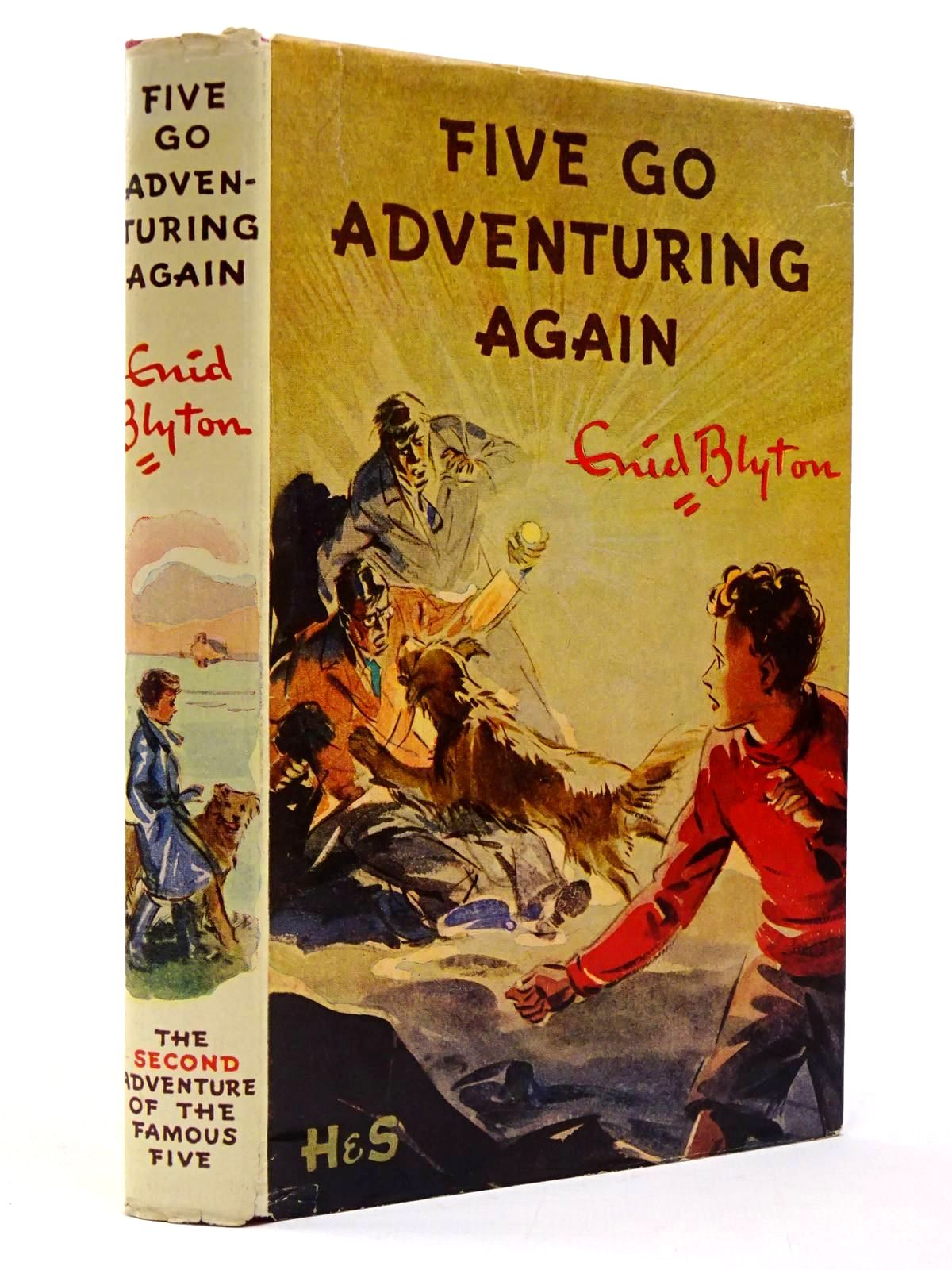 Cover of FIVE GO ADVENTURING AGAIN by Enid Blyton