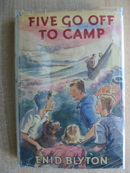 Cover of FIVE GO OFF TO CAMP by Enid Blyton