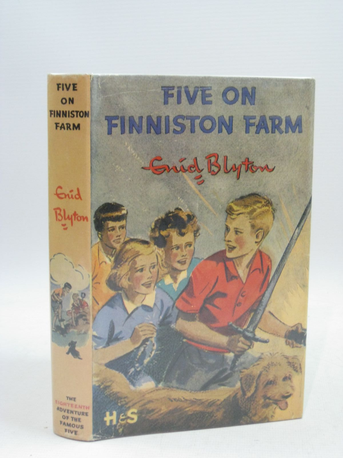 Cover of FIVE ON FINNISTON FARM by Enid Blyton
