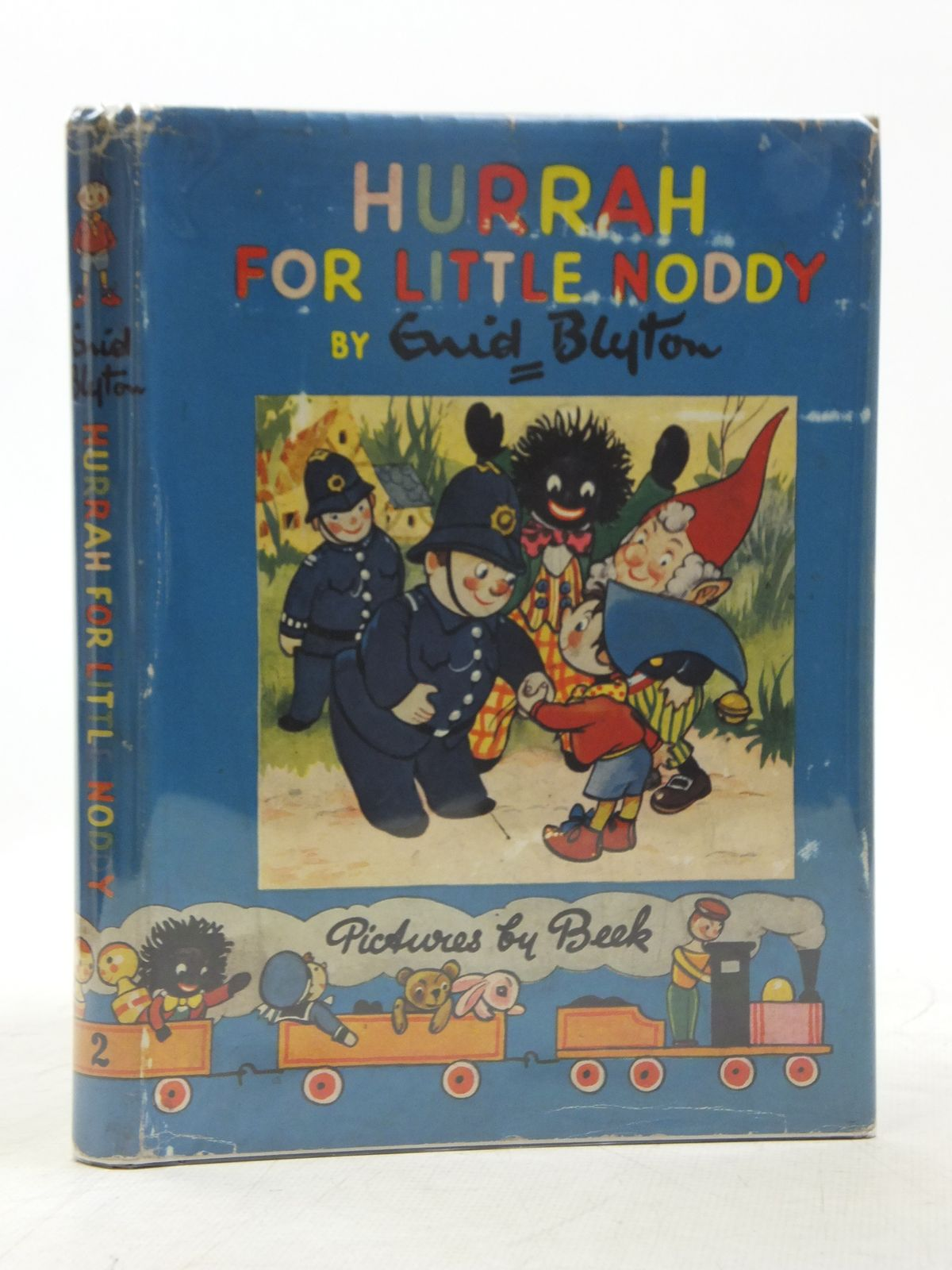 Cover of HURRAH FOR LITTLE NODDY by Enid Blyton