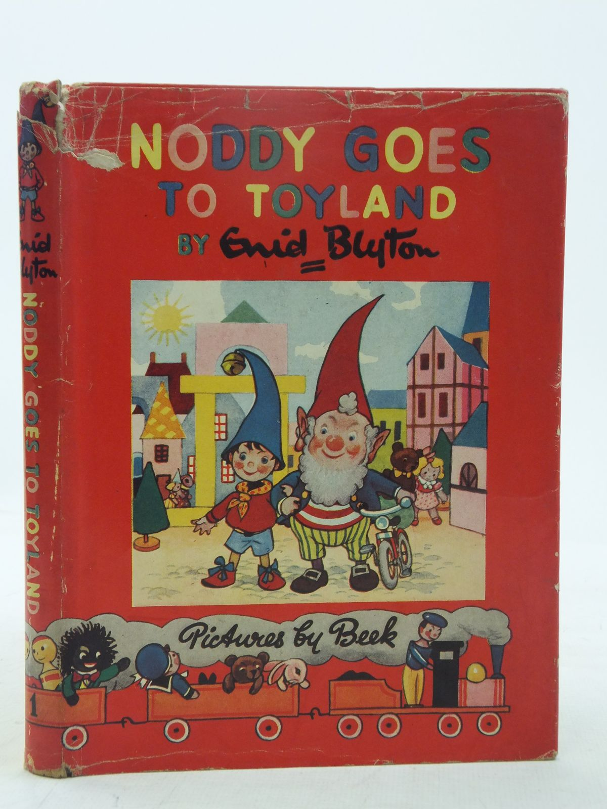 Cover of NODDY GOES TO TOYLAND by Enid Blyton