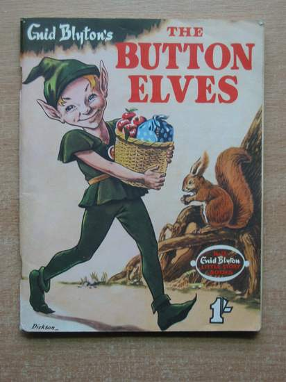 Cover of THE BUTTON ELVES by Enid Blyton