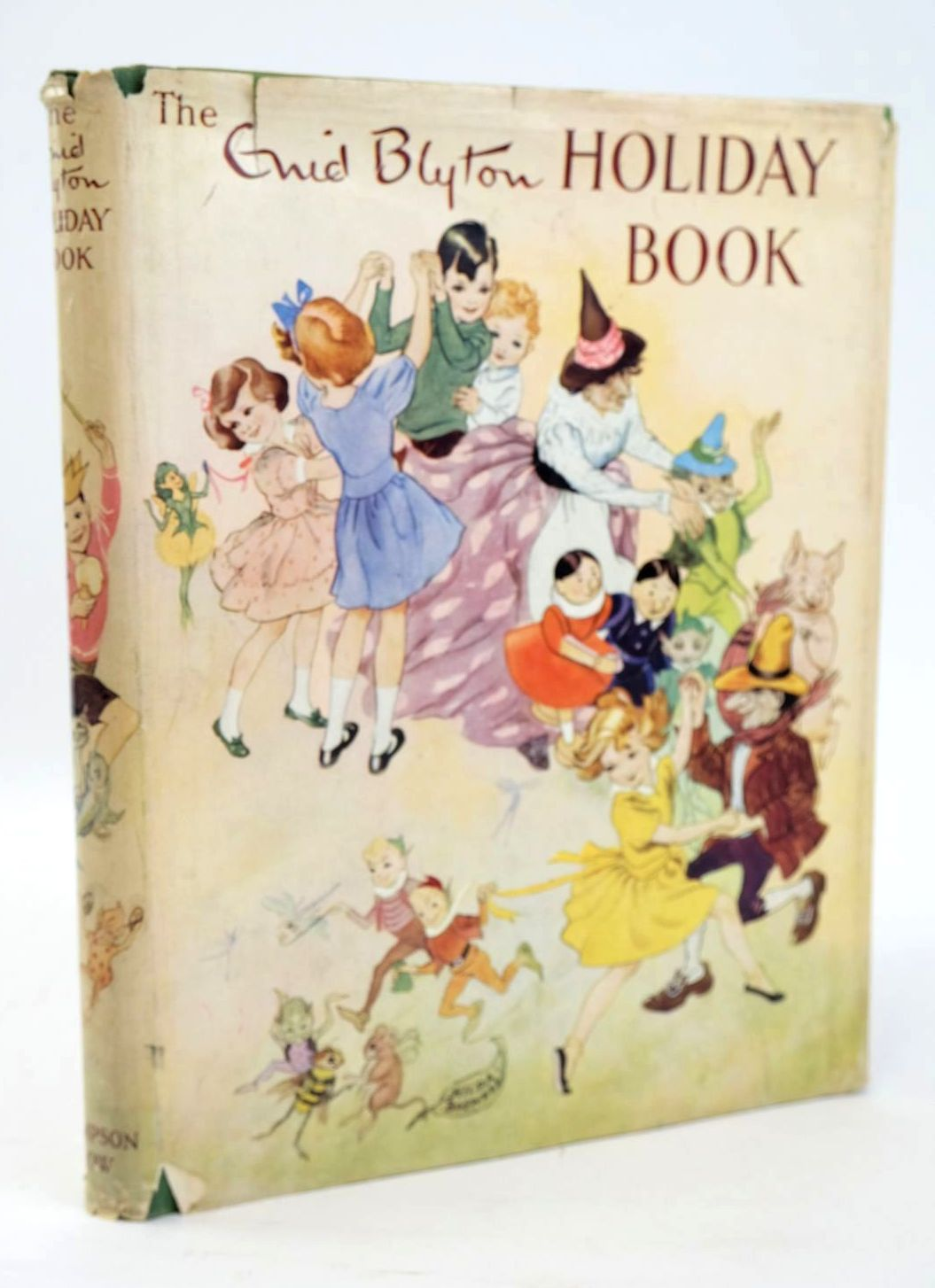 Cover of THE ENID BLYTON HOLIDAY BOOK by Enid Blyton