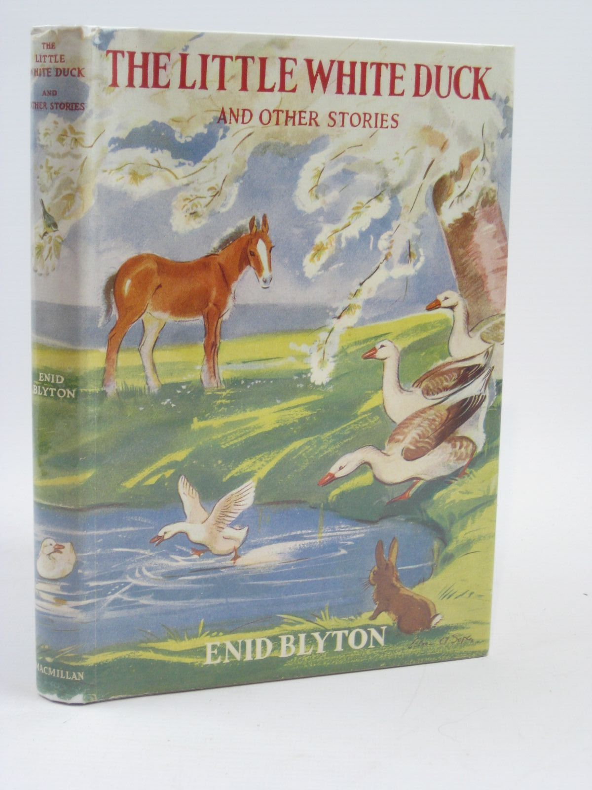 Cover of THE LITTLE WHITE DUCK AND OTHER STORIES by Enid Blyton