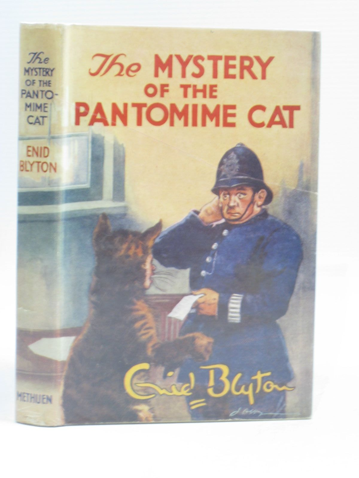 Cover of THE MYSTERY OF THE PANTOMIME CAT by Enid Blyton