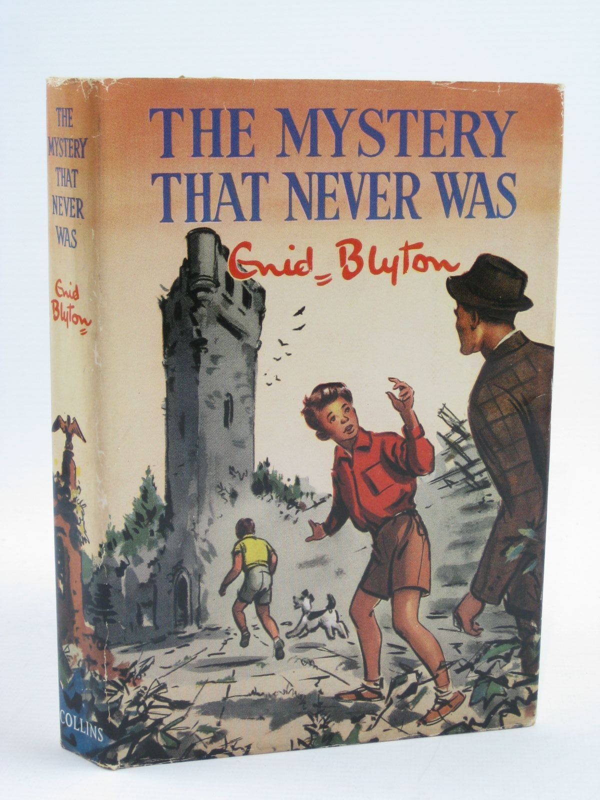 Cover of THE MYSTERY THAT NEVER WAS by Enid Blyton