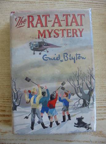 Cover of THE RAT-A-TAT MYSTERY by Enid Blyton