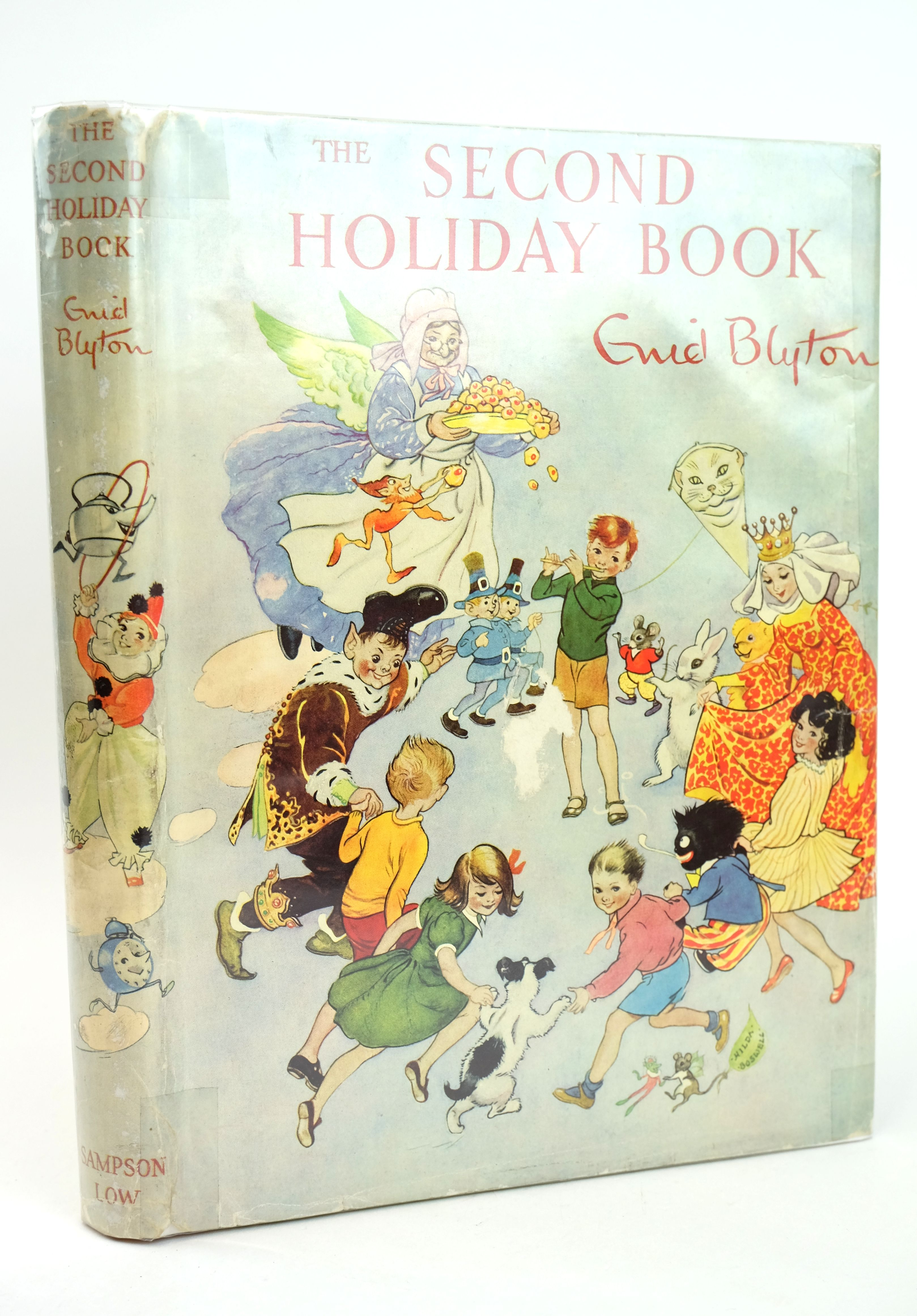 Cover of THE SECOND HOLIDAY BOOK by Enid Blyton