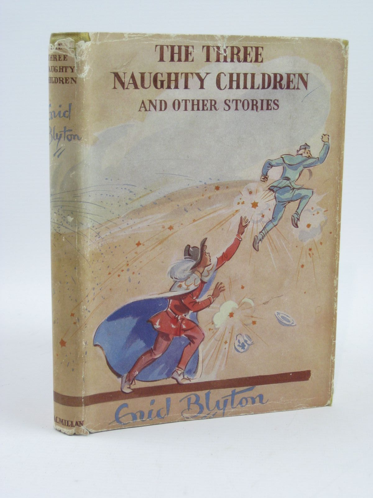 Cover of THE THREE NAUGHTY CHILDREN by Enid Blyton