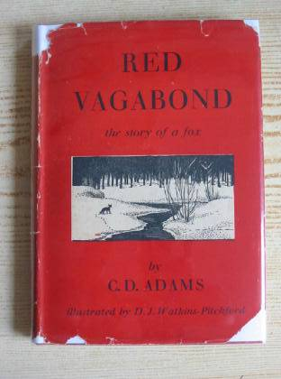 Cover of RED VAGABOND by G.D. Adams