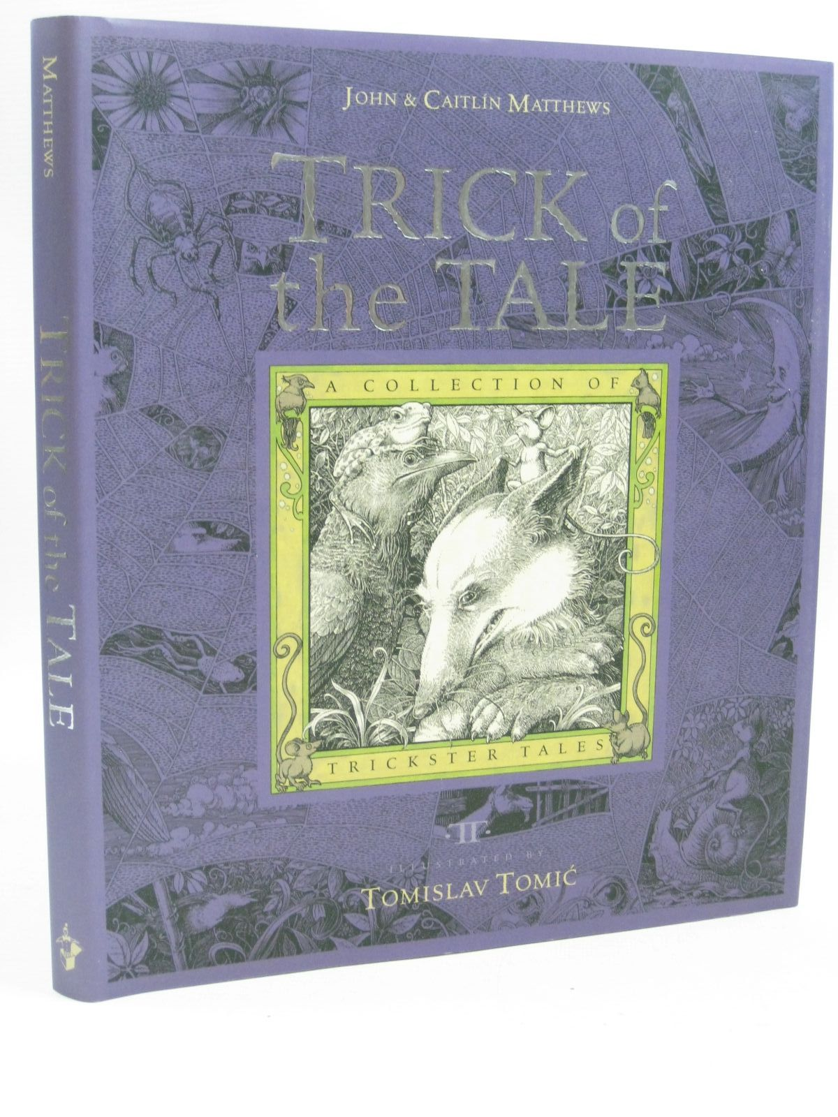 Cover of TRICK OF THE TALE by John Matthews; Caitlin Matthews