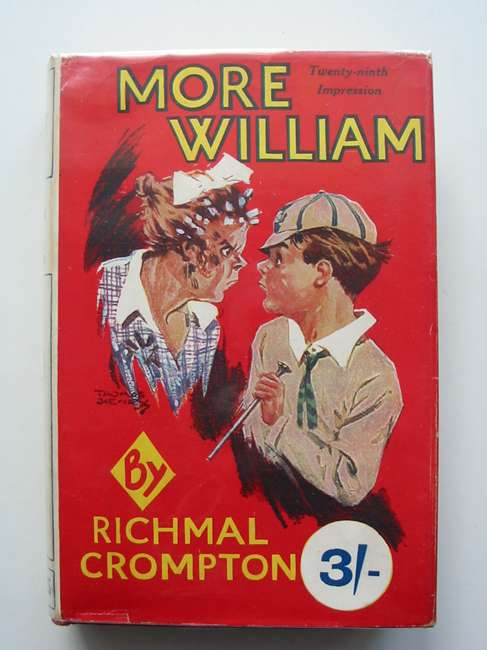 Cover of MORE WILLIAM by Richmal Crompton