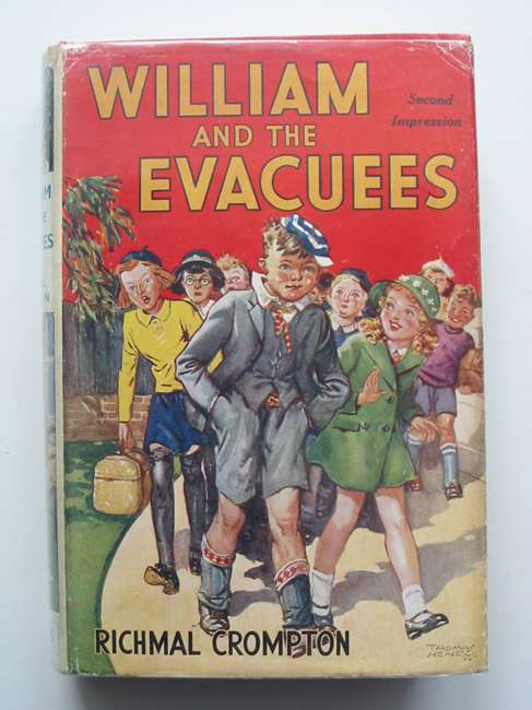 Cover of WILLIAM AND THE EVACUEES by Richmal Crompton