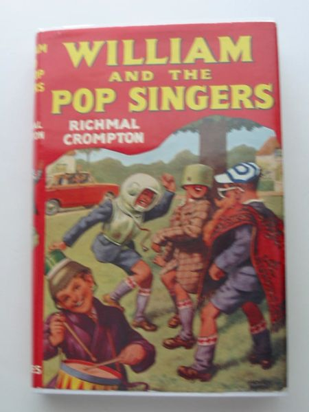 Cover of WILLIAM AND THE POP SINGERS by Richmal Crompton