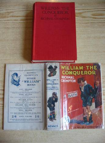 Cover of WILLIAM THE CONQUEROR by Richmal Crompton