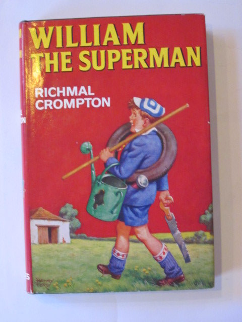Cover of WILLIAM THE SUPERMAN by Richmal Crompton