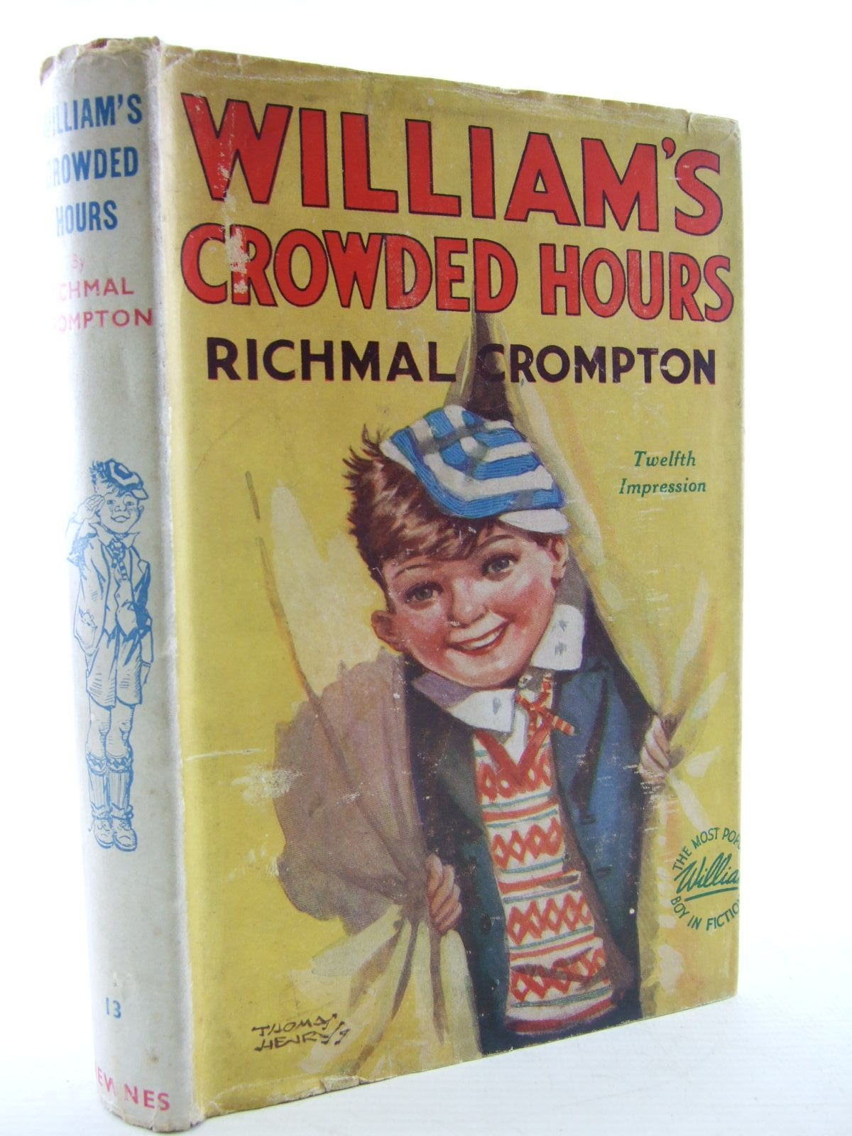 Cover of WILLIAM'S CROWDED HOURS by Richmal Crompton