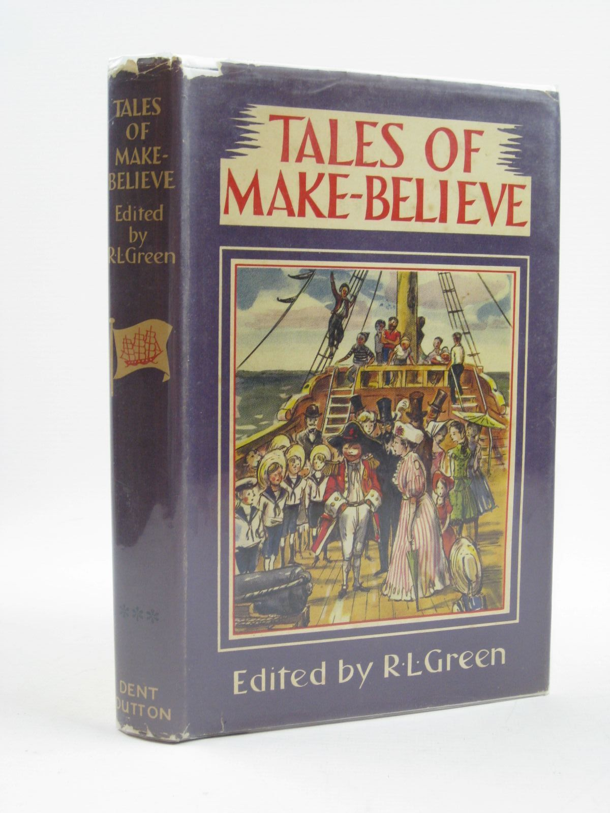 Cover of TALES OF MAKE-BELIEVE by Roger Lancelyn Green