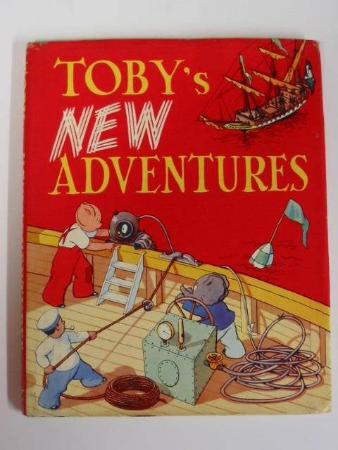 Cover of TOBY'S NEW ADVENTURES by Sheila Hodgetts