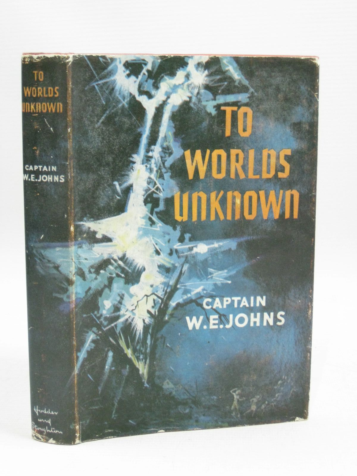 Cover of TO WORLDS UNKNOWN by W.E. Johns