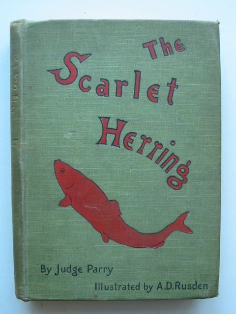 Photo of THE SCARLET HERRING written by Parry, Edward Abbott illustrated by Rusden, A. D. published by Smith, Elder & Co. (STOCK CODE: 1101558)  for sale by Stella & Rose's Books