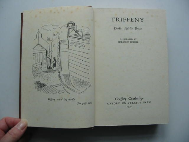 Photo of TRIFFENY written by Bruce, Dorita Fairlie illustrated by Horder, Margaret published by Oxford University Press, Geoffrey Cumberlege (STOCK CODE: 1102670)  for sale by Stella & Rose's Books