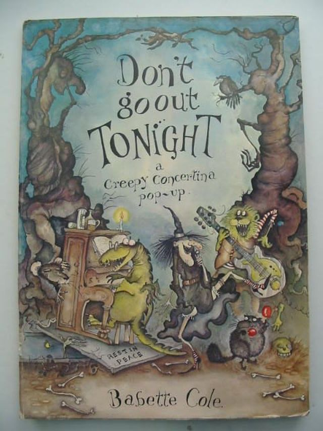 Photo of DON'T GO OUT TONIGHT written by Cole, Babette illustrated by Cole, Babette published by Doubleday (STOCK CODE: 1102703)  for sale by Stella & Rose's Books
