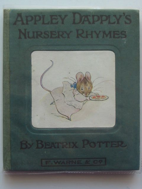 Photo of APPLEY DAPPLY'S NURSERY RHYMES written by Potter, Beatrix illustrated by Potter, Beatrix published by Frederick Warne & Co. (STOCK CODE: 1103802)  for sale by Stella & Rose's Books