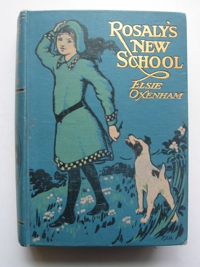 Photo of ROSALY'S NEW SCHOOL written by Oxenham, Elsie J. illustrated by Overnell, T.J. published by W. & R. Chambers Limited (STOCK CODE: 1103869)  for sale by Stella & Rose's Books